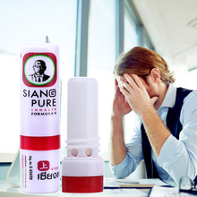 лучшая цена SIANG PURE Mint Refresh Oneself Treatment Of Influenza Cold Headache Dizziness Muscle Massager Relax Essential Oil