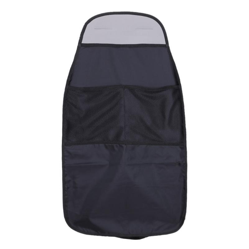 Waterproof Car Seat Back Scuff Dirt Protector Cover For Children Car Seat Organization Bag