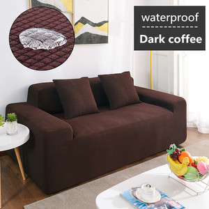 Image 5 - Wasserdicht Sofa Abdeckung Sofa Kissen Anti slip Pet Pad Windel Vier Jahreszeiten Sofa Handtuch Nordic Universelle Einfarbig