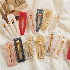 AOMU-Korea-Hollow-Geometric-Waterdrop-Acrylic-Hair-Clips-for-Girls-Shiny-Tin-Foil-Sequins-Hairpins-Hair