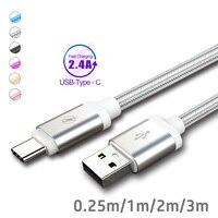 Usb Typ C Ladegerät Kabel 3m 2m Usb 3,1 Kabel für Xiaomi Mi A3 A2 Mix 3 Huawei mate p30 Usb C Cavo Daten Kabel Rollenmaschinenlinie Typc Usbc Cabos
