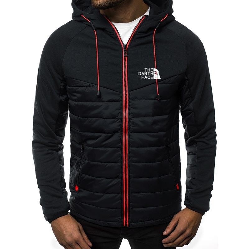 men's clothing track suit menswear hoodie north logo spring/summer jacket casual sweatshirt long sleeve zippered hoodie