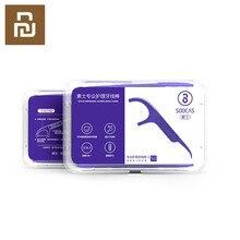 Soocare 50 pièces/boîte Quotidien De Nettoyage De Dent Fil Dentaire Professionnel de Test De Qualité Alimentaire Bateau Rapide