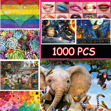 New Jigsaw puzzle 1000pcs wooden 3D picture Sea World Plants Christmas Landscape puzzles toys for adults children home games