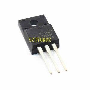 Svf7n65f mosfet 7n65f lcd power fet para-220 plástico selo transistor 7n65