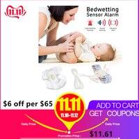 Cama wetting sensor de alarme lembrete molhado conveniente profissional bebê sensor para crianças do bebê treinamento potty adultos dormir enurese