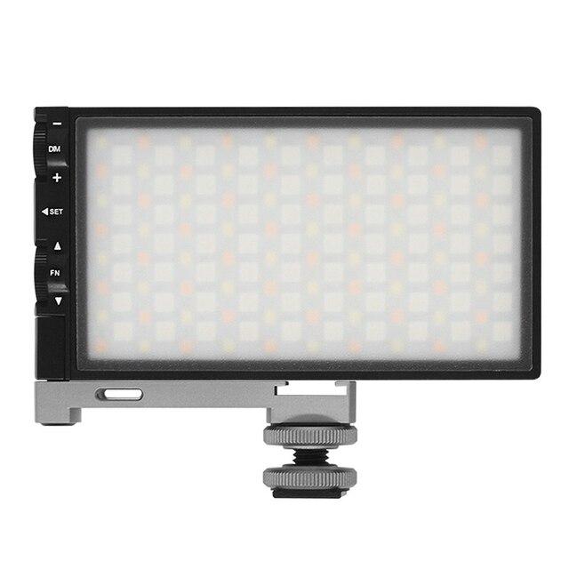RGB 2500K 8500K regulable a todo Color luz LED para vídeo fotografía Video estudio DSLR Cámara luz PK BOLING BL P1