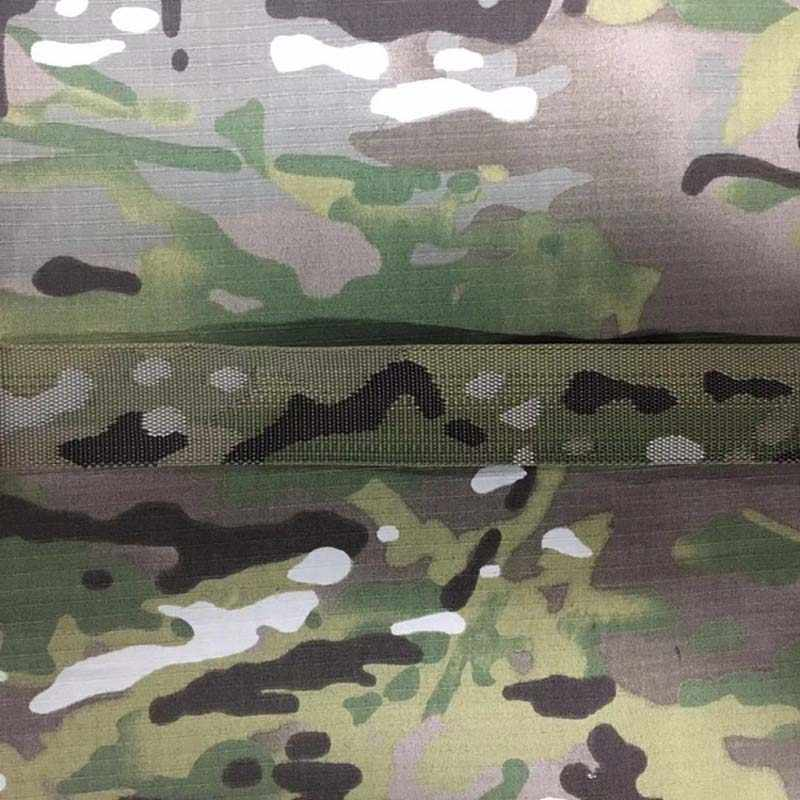 1M Length Military Multicam MC Jacquard webbing Strap DIY Molle Belt Strap Band Tape 25mm  38mm 50mm Wide