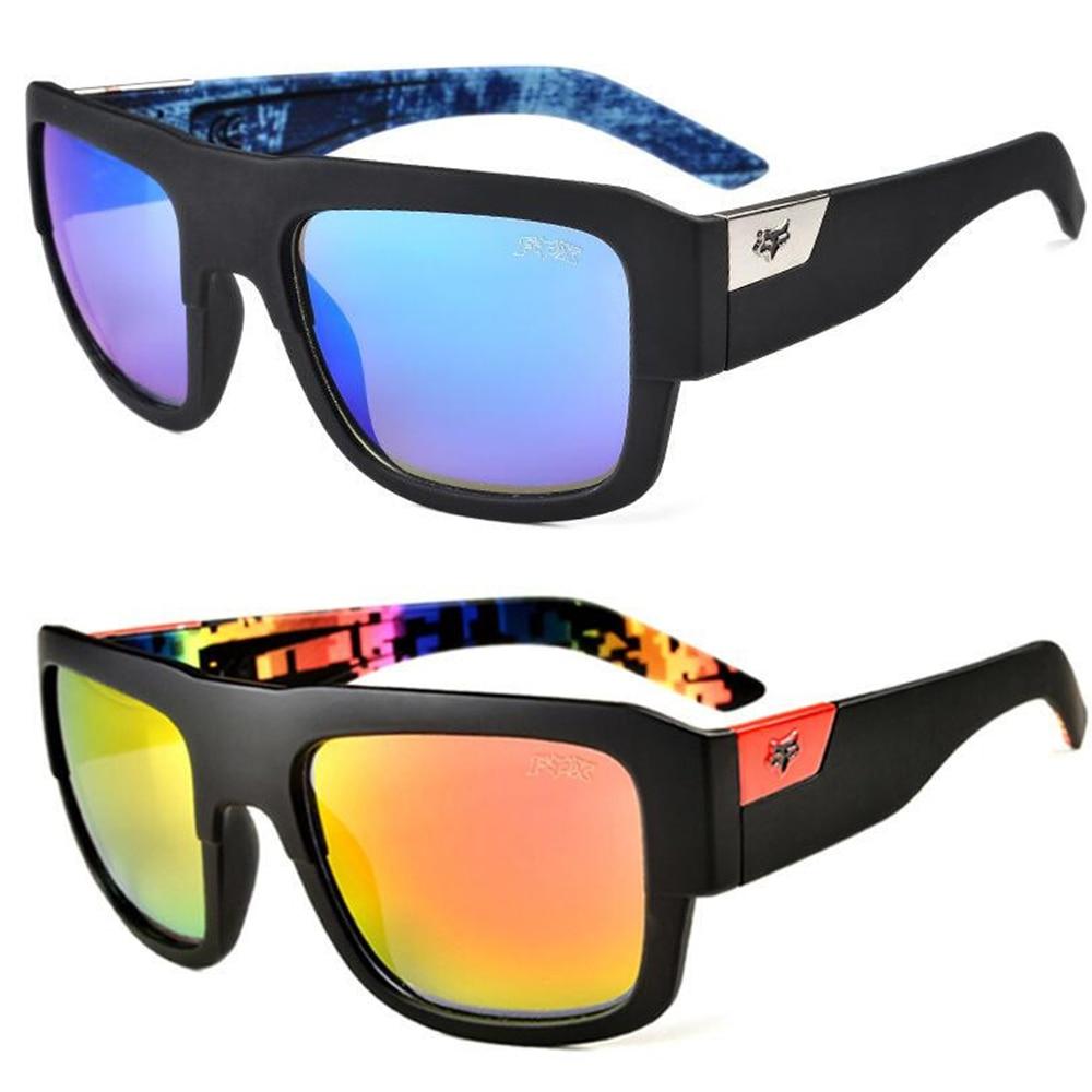 Лисы уличная Спортивные очки Для мужчин солнцезащитные очки Для женщин очки для вождения или антибликовым покрытием UV400