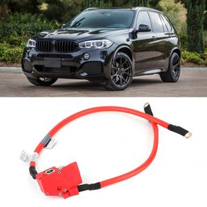 Image 2 - Auto Positieve Batterij Kabel 61129322056 OEM Replacemnt Past voor X5 2014 2017 auto batterij terminals bornes bateria