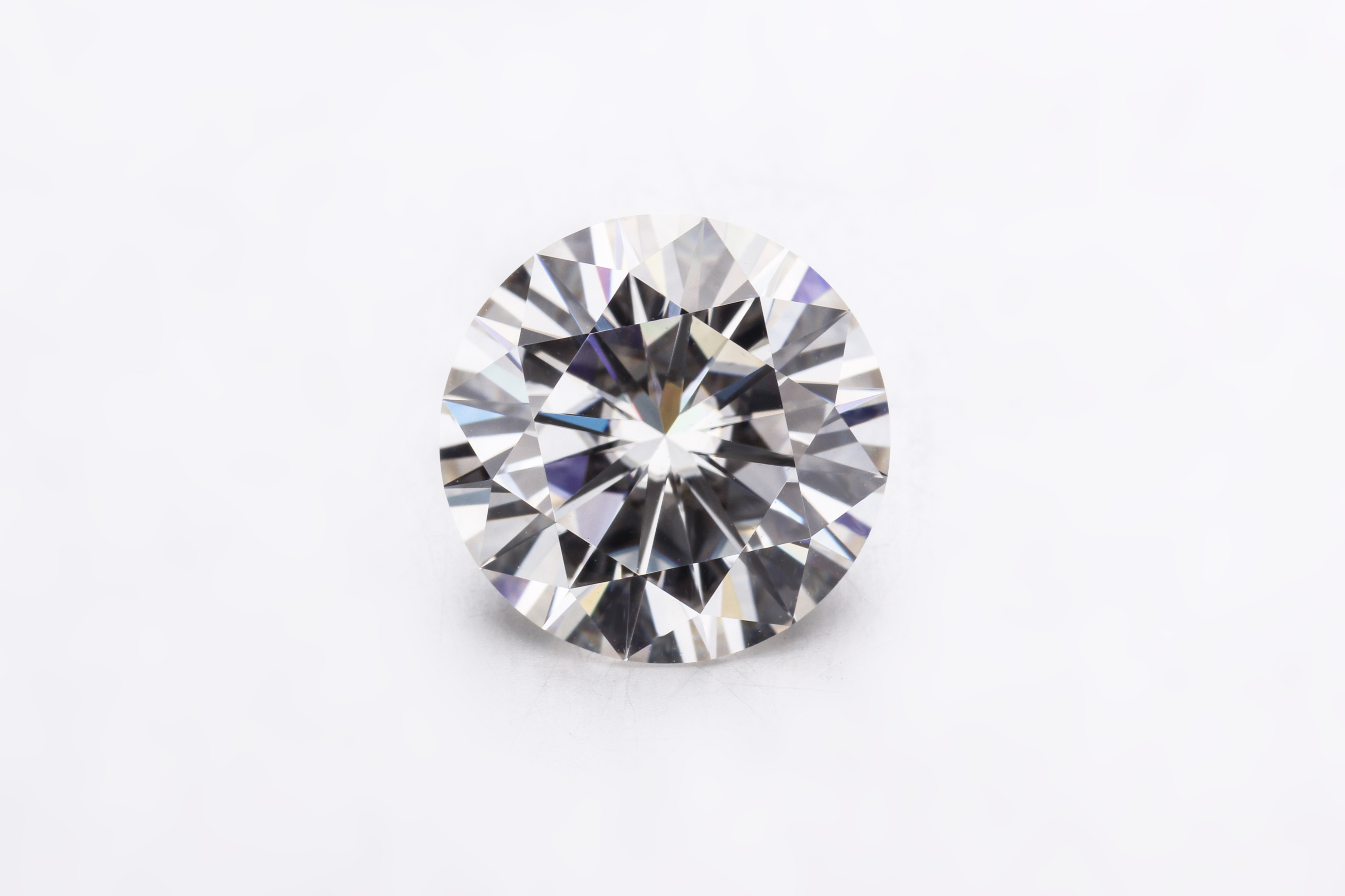 Round Brilliant Cut 3ct GH Color 9mm Moissanite VVS Loose Stone Test Passed Possitive Gemstone