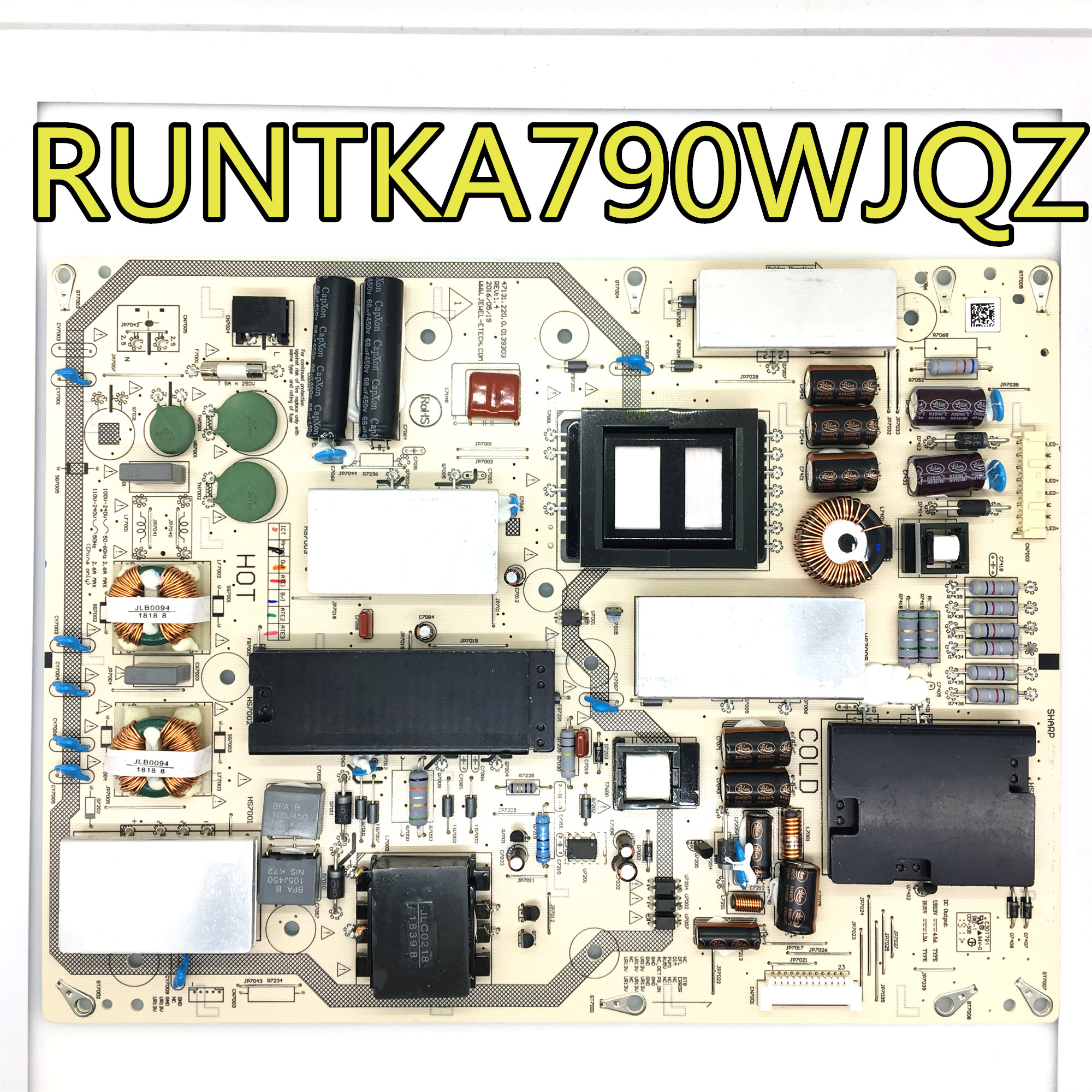 Test d'origine 100% pour LCD-46LX830A DPS-143BP/127BP/AP carte d'alimentation RUNTKA790WJQZ