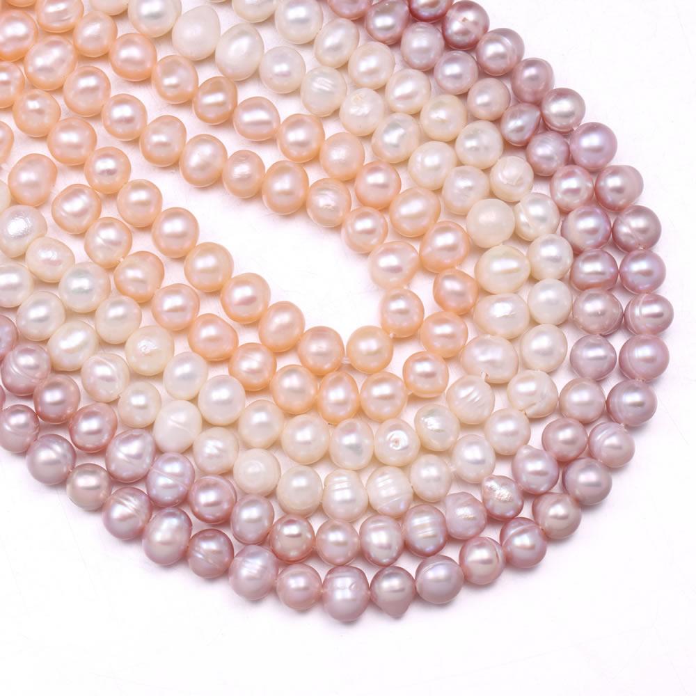 Бусины Из Натурального пресноводного жемчуга, 36 см, для элегантных женщин, браслетов, сережек, ожерелий, швейных изделий