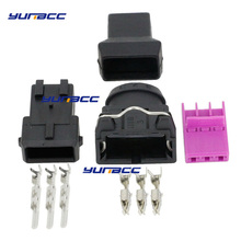 3 Pin Electrical Wire Connector For EV1 Auto Connectors DJ7031-3.5-11/21