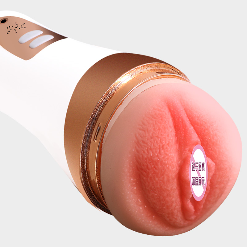 Adult Sex Toy Vibrator For Men Masturbation Cup Automatic Telescopic Oral Blowjob Sucking Artificial Vaginal Sex Machine For Men in Masturbation Cup from Beauty Health