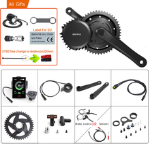 Bafang 48V 1000W BBSHD/BBS03B 40T Mid Drive Motor Electric BB 68 73MM Bicycle Conversion Kits 8FUN E bike Powerful Motor Display