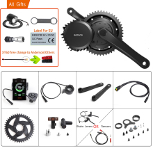 Bafang 48V 1000W BBSHD/BBS03B 40T Mid Drive Motor elettrico BB 68-73MM kit di conversione bici 8FUN e-bike potente Display del motore
