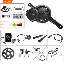 Bafang 48v 1000ワットbbshd/BBS03B 40t midドライブ方式モータ電動bb 68 73ミリメートル自転車変換キット8FUN e バイク強力なモーターディスプレイ