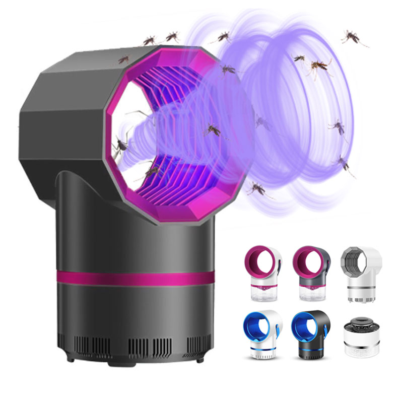 Electric Mosquito Killer Lamp USB Insect Killer Bug No Noise No Radiation Flies Trap Repellent Photocatalysis Anti Mosquito Lamp