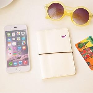 Id кредитная и визитная карточка держатель кошелек Обложка для паспорта бумажник мягкий держатель для паспорта минималистичный дорожный ко...
