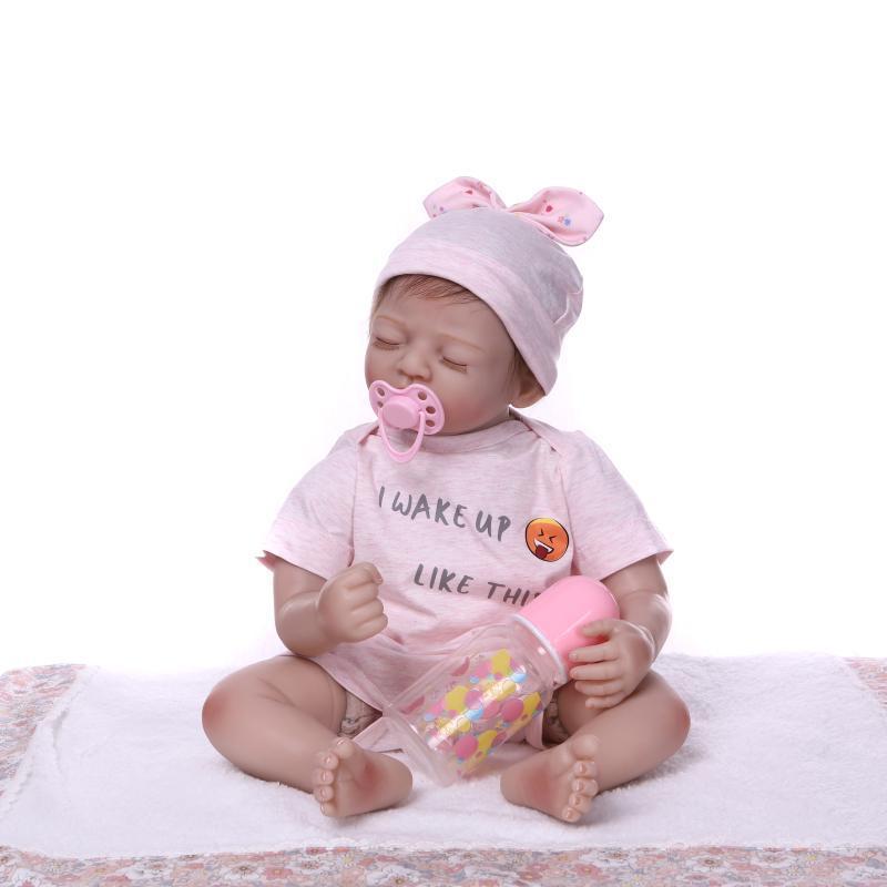 NPK Cute Model Infant Silicone Toy Children Birthday Gift Holiday Gift