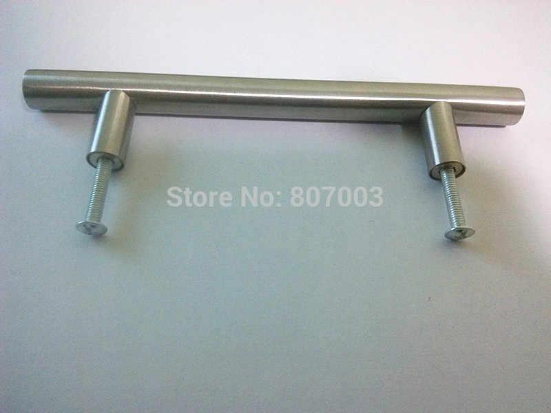 """(Diámetro 10mm, longitud: 100mm) mango de armario de cocina de 4"""" manijas T de acero inoxidable"""