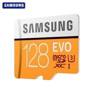 Image 2 - SAMSUNG tarjeta de memoria Micro SD EVO de 32GB, 64GB, Clase 10, 128GB, Max 100, MB/s, SDHC, SDXC, U3, UHS I, TF, 4K, HD, para Smartphone, tableta y PC