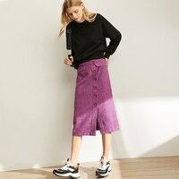 French Spring Half Skirt