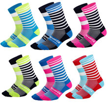 Professional Cycling Socks for Men Women Road Bicycle Socks Outdoor Racing Bike Compression Sport Socks High Quality цена и фото