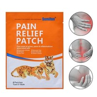 8pcs/bag Tiger Balm Pain Relief Patch Body Muscle Shoulder Neck Back Arthritis Joint Knee Chinese Herbal Medical Plaster Patches