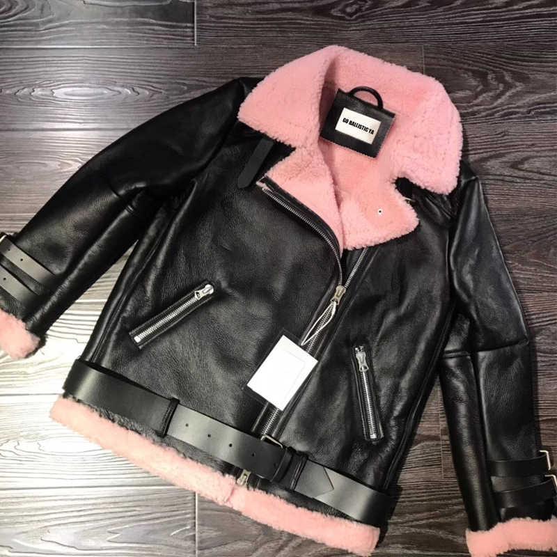 Женская замшевая кожаная куртка из овчины дубленки куртки дамыкуртка овечьей