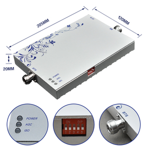 Image 4 - Lintratek 3G tekrarlayıcı sinyal güçlendirici 2100Mhz 75dB Band 1 cep telefonu tekrarlayıcı 3G WCDMA UMTS cep sinyal amplifikatörü 25dBm #7.5