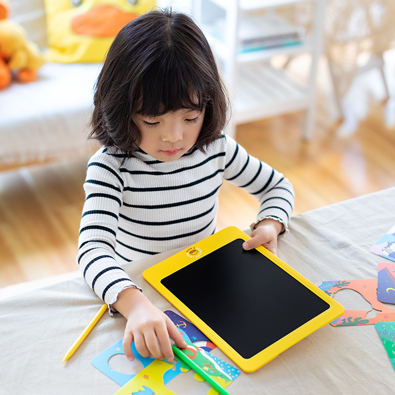B. Duck Small Yellow Duck Children Color LCD Display Drawing Board Handwriting Board Graffiti Graphics Tablet Electronic Small B