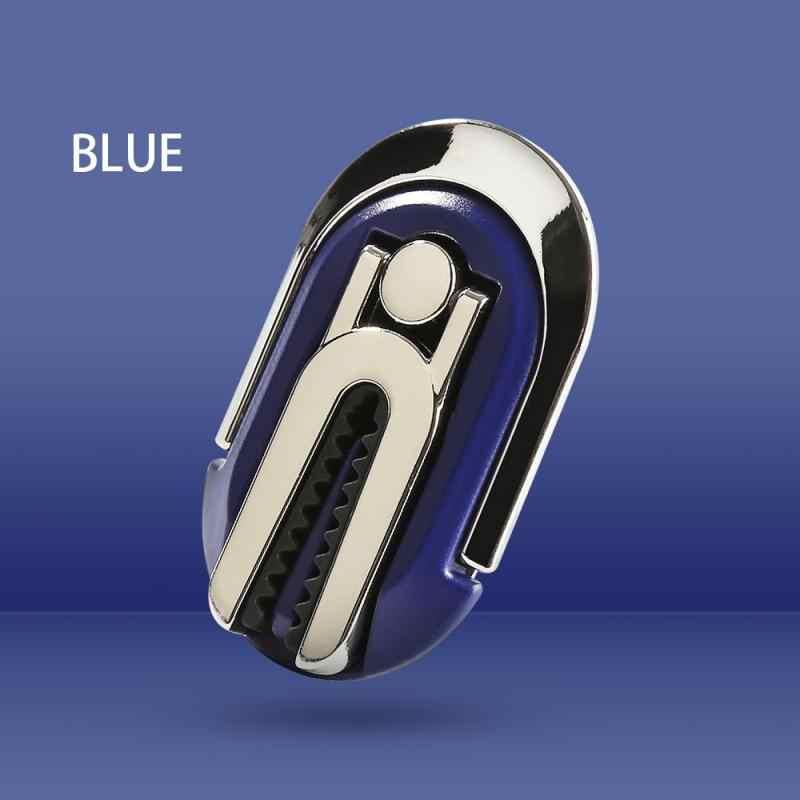 Универсальный магнитный держатель для телефона держатель на вентиляционное отверстие автомобиля мобильный смартфон 90 ° Флип Складные держатели