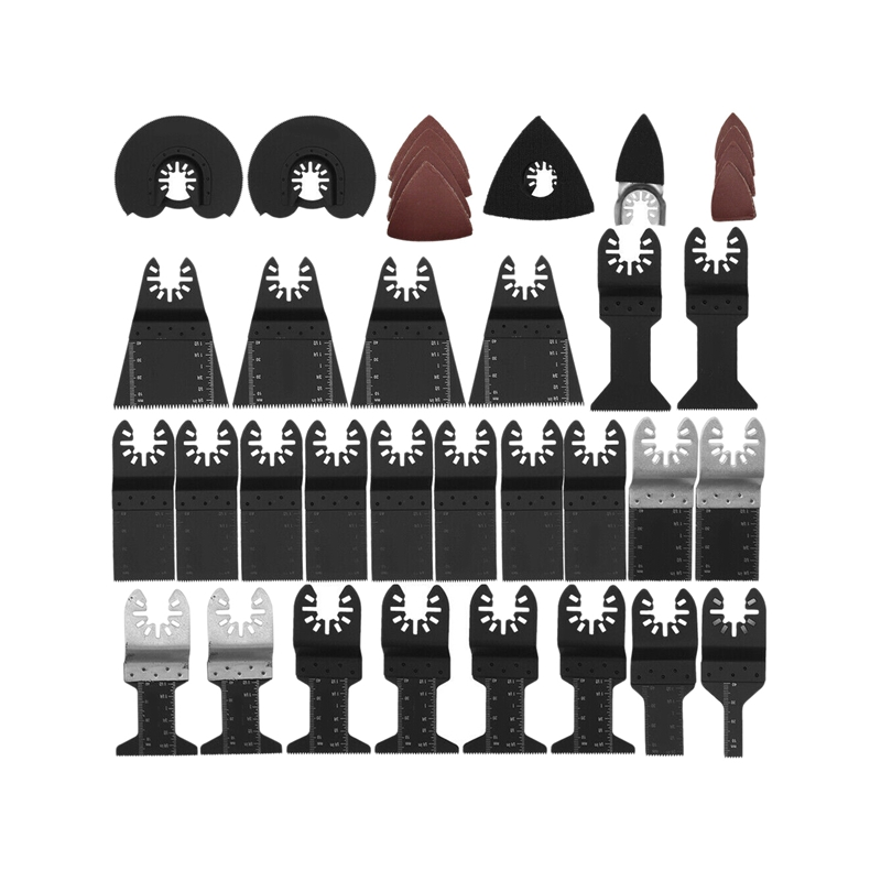 68Pcs/Set Oscillating Saw Blade Multifunction Diy For Fein Multimaster Dewalt Makita Bosch Multimaster Rotary Tool Bit