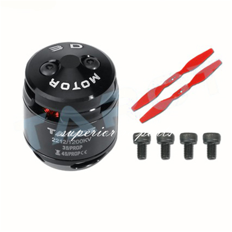 Tarot TL400H9 2212 <font><b>1200KV</b></font> Brushless Motor with Prop for Multirotor Quadcopter FPV GSX 16%OFF image