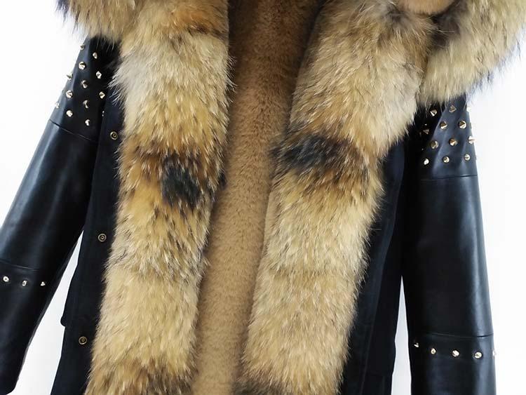 Leather Sheepskin Streetwear New 42