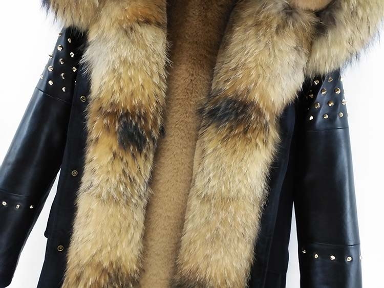 New Leather OFTBUY Coat 42