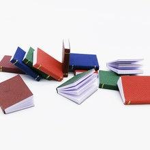 4 pièces Mini classique couleur livre maison de poupée Mini livres pour ob11 Blyth barbies poupée meubles accessoires de décoration