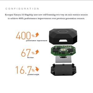 Image 2 - Coollang 3,0 Smart Badminton Schläger Sensor Tracker Drahtlose Bluetooth Motion Analyzer für Android IOS Smartphone Sport Tracker