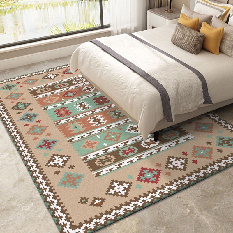 Classic Persian Style Bedroom Bedside Carpets Living Room Large Area Rugs Sofa Table Home Decor Study Room Non-Slip Floor Mats