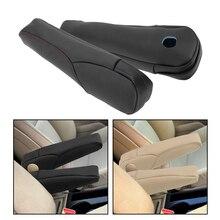 צד מושב משענת ידית דקור כיסוי Trim הגנת מיקרופייבר עור עבור הונדה CRV 2007 2008 2009 1 זוג רכב סטיילינג
