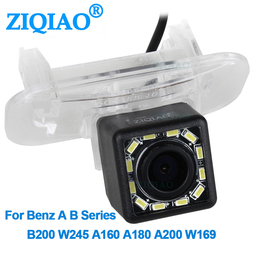ZIQIAO for Mercedes Benz A B Series W245 W169 A150 A160 A200 B150 B180 B200 Night Vision Reverse Parking Camera HS101