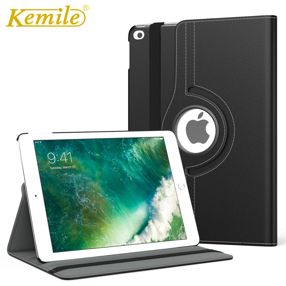 360 Degree Rotating Case For New IPad 7th 10.2 Inch Case PU Leather Auto Sleep Wake Stand Case For IPad 7th 10.2 Inch 2019 Case