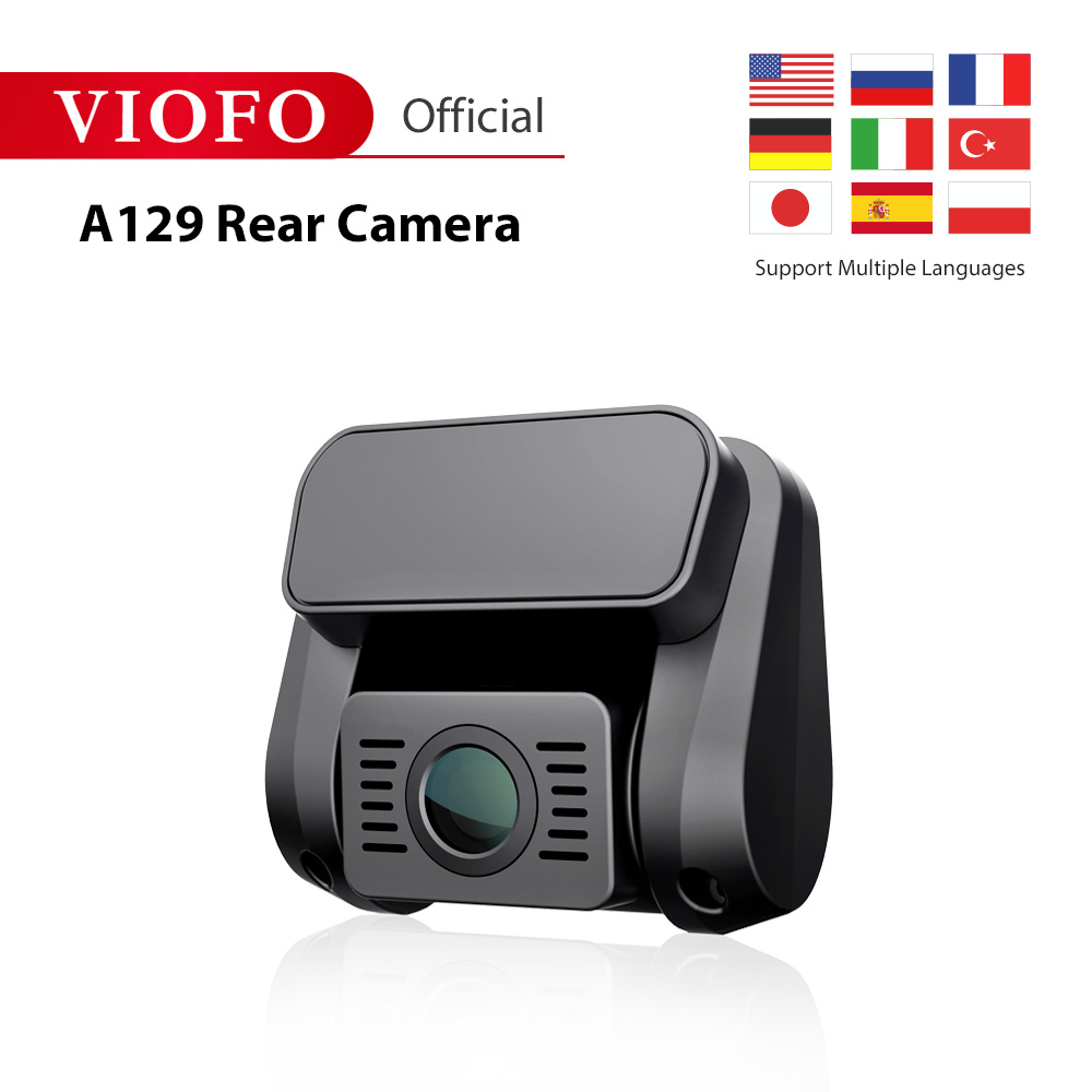 Viofo A129 Rear Camera Band 5GHz Wi Fi Full HD Car Dash Camera Recorder With Sony Starvis Image Sensor DVR/Dash Camera Automobiles & Motorcycles - title=