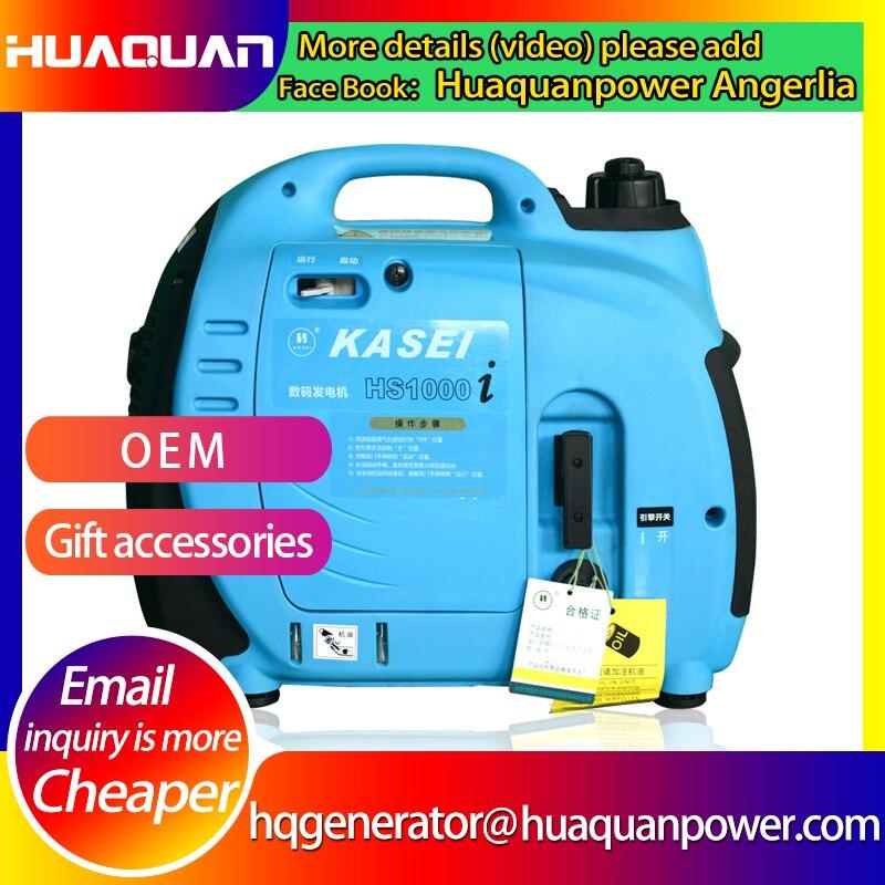 gerador eletrico silencioso da gasolina da qualidade 1kw para o uso domestico da emergencia