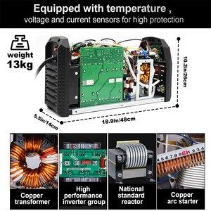 Image 5 - HZXVOGEN soldador de arco Tig MMA TIG200P, inversor de soldadura de aluminio AC DC, equipo de soldadura, máquina de Control de larga distancia funcional