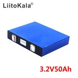 3.2v 50Ah LifePo4 batterie lithium 150A 3C haute vidange pour bricolage 12V 24V solaire onduleur véhicule électrique c oach chariot de golf