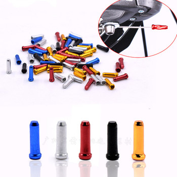 20Pcs Bicycle MTB Brake Wire End Core Caps Cable Aluminum Cover Gear Bikes Parts Cycling Equipments Bicycle Accessory image