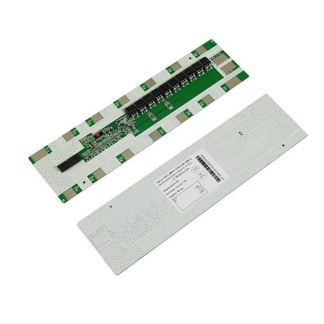 Литий ионный аккумулятор 13S 48 В 25A BMS, литий ионный аккумулятор BMS для держателя 6*13 Вт